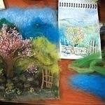 Живые картины: заказы и обучение (moskwella) - Ярмарка Мастеров - ручная работа, handmade