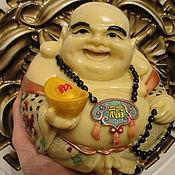 Фен-шуй и эзотерика ручной работы. Ярмарка Мастеров - ручная работа Статуэтка Будды (Хотея - бога богатства или Хотэя - смеющегося Будды). Handmade.