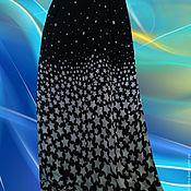 """Одежда ручной работы. Ярмарка Мастеров - ручная работа юбка со звездами шифоновая """"Звездопад"""". Handmade."""
