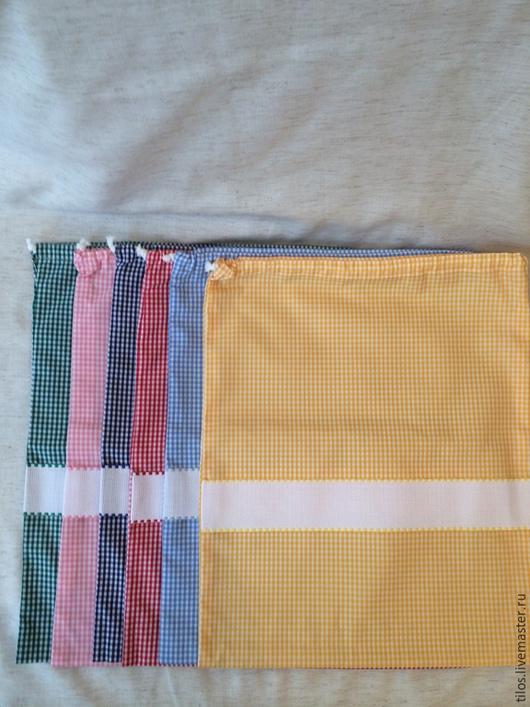 Детская ручной работы. Ярмарка Мастеров - ручная работа. Купить мешочек с канвой для вышивки. Handmade. Разноцветный, подарок женщине, канва