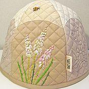 Kettle Warmers handmade. Livemaster - original item Warmer on the kettle Spring flowers. Handmade.