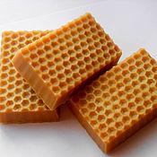 Косметика ручной работы handmade. Livemaster - original item Honey soap from scratch. Handmade.