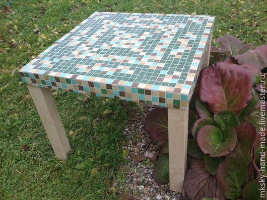 Мозаичный столик ручной работы.  MKsky.