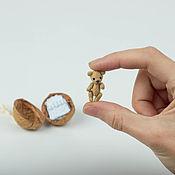 Куклы и игрушки ручной работы. Ярмарка Мастеров - ручная работа Самый маленький мишка Тедди (всего 2.5см!). Handmade.