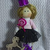 Большеножка ручной работы. Ярмарка Мастеров - ручная работа Большеножка: куколка принцесса для малышки. Handmade.