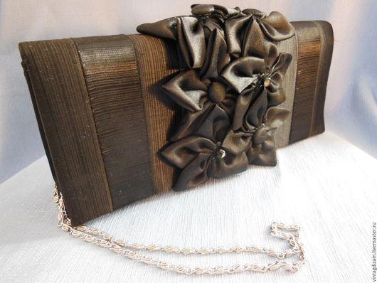 Винтажные сумки и кошельки. Ярмарка Мастеров - ручная работа. Купить Сумочка клатч. Handmade. Разноцветный, клатч ручной работы