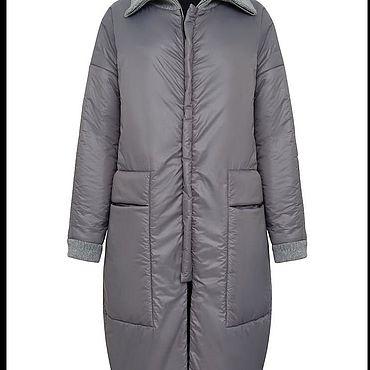 Одежда ручной работы. Ярмарка Мастеров - ручная работа Женская зимняя куртка-пальто. Handmade.