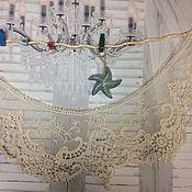 Винтаж handmade. Livemaster - original item Ladies lace collar cotton. Handmade.