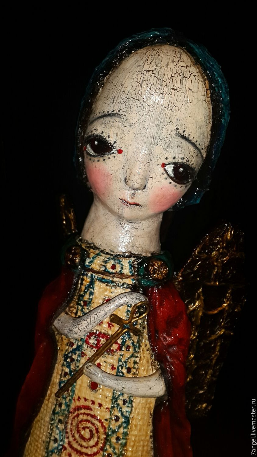 Collectible Dolls handmade. Livemaster - handmade. Buy Angel.Angel, paperclay