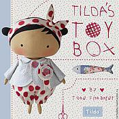 Материалы для творчества ручной работы. Ярмарка Мастеров - ручная работа Новая книга тильда Tilda`s toy box. Handmade.