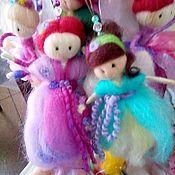 Сувениры и подарки handmade. Livemaster - original item Wool fairy,12-15 cm. Handmade.