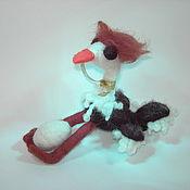 Куклы и игрушки ручной работы. Ярмарка Мастеров - ручная работа Страус с яйцом. Handmade.