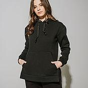 Одежда handmade. Livemaster - original item Sweatshirt with slits. Handmade.