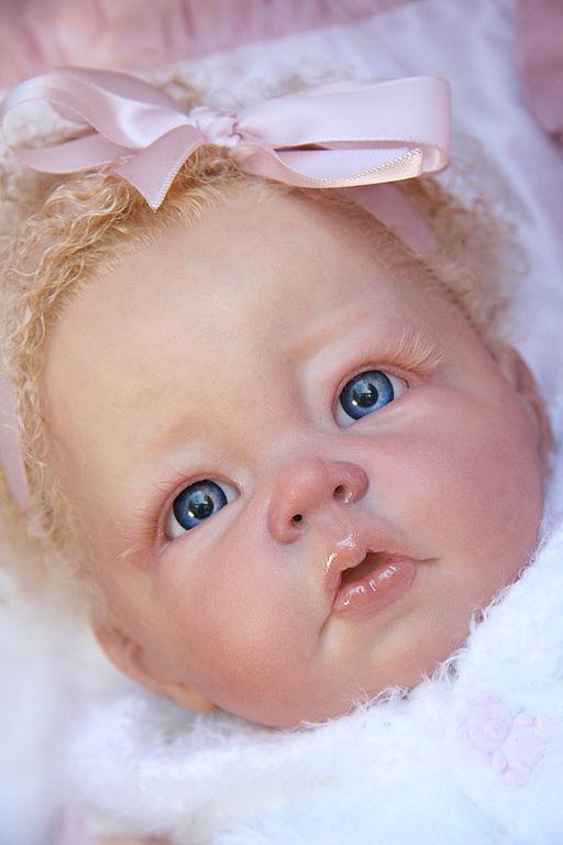 Куклы-младенцы и reborn ручной работы. Ярмарка Мастеров - ручная работа. Купить Кукла реборн Каролин. Моя работа.. Handmade.