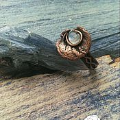 Украшения handmade. Livemaster - original item Ring with plagioclase. Handmade.