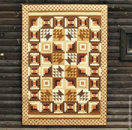 Текстиль, ковры ручной работы. Ярмарка Мастеров - ручная работа. Купить Лоскутное покрывало Под ракитовым кустом пэчворк. Handmade.