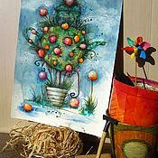 Картины и панно ручной работы. Ярмарка Мастеров - ручная работа Топиарий. Handmade.