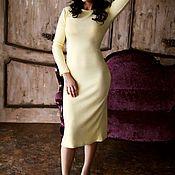 Одежда ручной работы. Ярмарка Мастеров - ручная работа Платье нежная ангора comfortable style. Handmade.