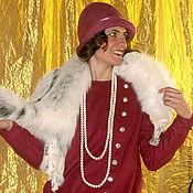 Одежда ручной работы. Ярмарка Мастеров - ручная работа Платье-пальто  в стиле 1920-х. Handmade.