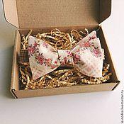 Аксессуары ручной работы. Ярмарка Мастеров - ручная работа Галстук-бабочка «Rose». Handmade.