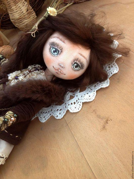 Коллекционные куклы ручной работы. Ярмарка Мастеров - ручная работа. Купить Grilyazh. Handmade. Коричневый, прованский стиль, коллекционная кукла