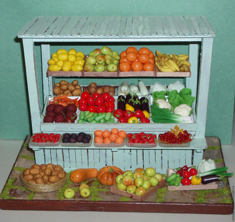 Овощной прилавок своими руками фото 11