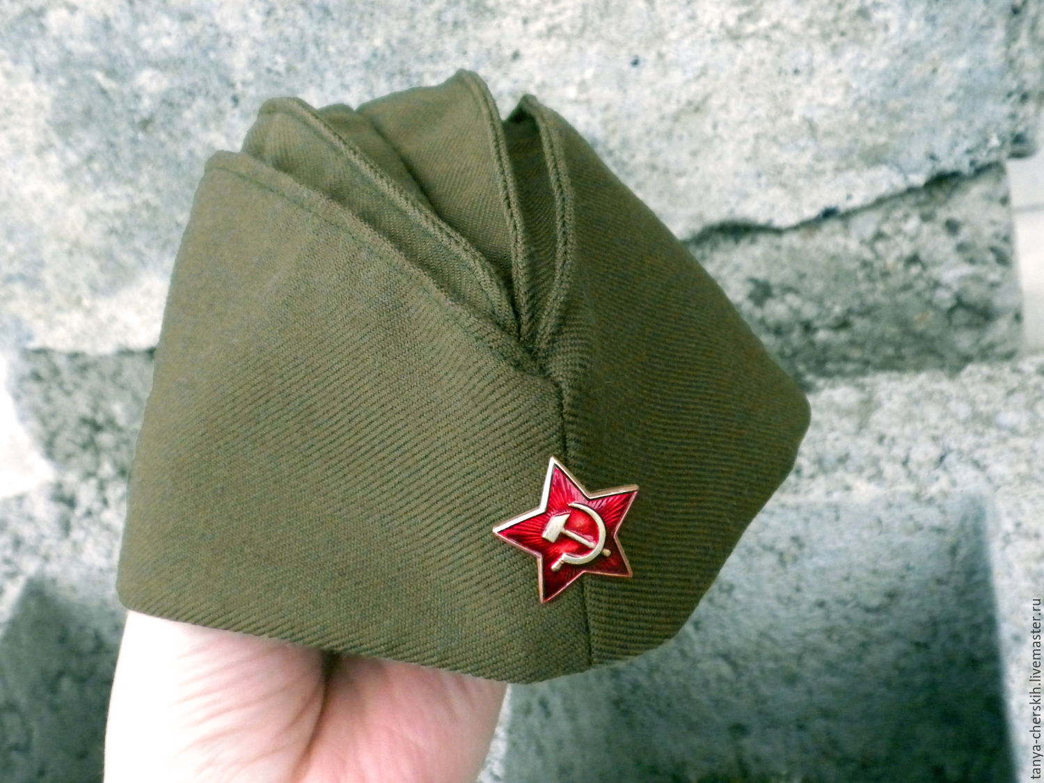 The soldier's forage cap children and adult, Pilot, Kaliningrad,  Фото №1