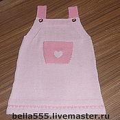 """Одежда ручной работы. Ярмарка Мастеров - ручная работа Сарафан """"Розовое чудо"""". Handmade."""