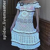 Одежда handmade. Livemaster - original item Knitted dress FOR PROM. Handmade.