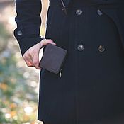 Сумки и аксессуары handmade. Livemaster - original item Leather men`s wallet MUNICH. Handmade.