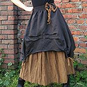 Одежда ручной работы. Ярмарка Мастеров - ручная работа Юбка Бохо (миди длина). Handmade.