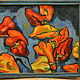 """Натюрморт ручной работы. Ярмарка Мастеров - ручная работа. Купить """"Натюрморт с перцами"""". Handmade. Перцы, картина, картина для интерьера"""