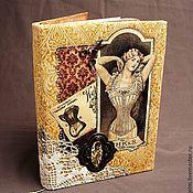 Блокноты ручной работы. Ярмарка Мастеров - ручная работа Блокнот для девушки. Handmade.