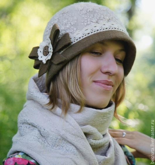 """Шляпы ручной работы. Ярмарка Мастеров - ручная работа. Купить Шляпка женская .Шапочка"""" Августина""""...... Handmade. Головные уборы, шапочки"""