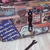 Сувениры и подарки handmade. Livemaster - original item Suitcase for a mechanic. Handmade.