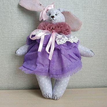 Куклы и игрушки ручной работы. Ярмарка Мастеров - ручная работа Винтажный зайка. Handmade.