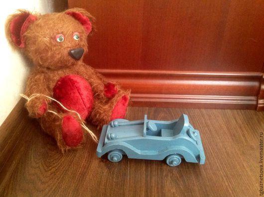 """Техника ручной работы. Ярмарка Мастеров - ручная работа. Купить Машинка """" Кабриолет"""". Handmade. Синий, машинка, игрушка для мальчика"""