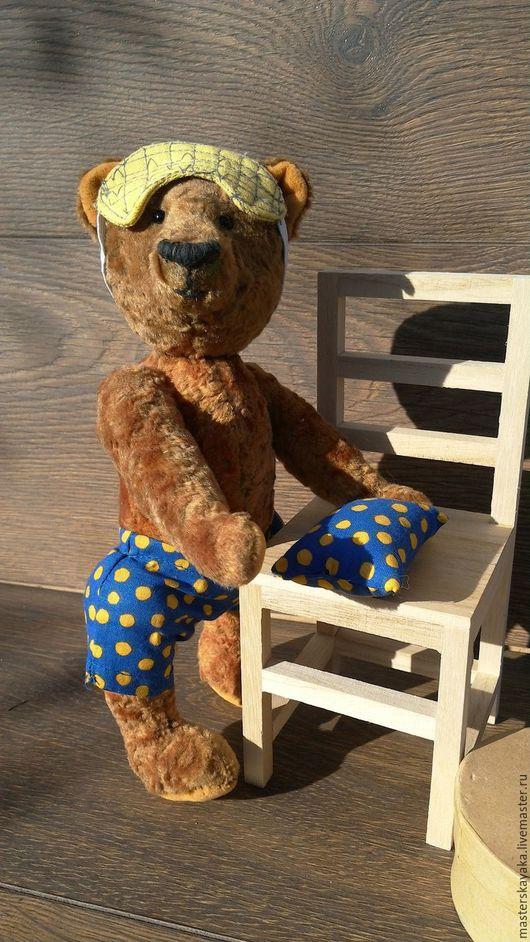 Мишки Тедди ручной работы. Ярмарка Мастеров - ручная работа. Купить Мишка для сна. Handmade. Коричневый, сон
