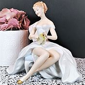 Винтаж handmade. Livemaster - original item Porcelain figurine, Wallendorf, Germany.. Handmade.