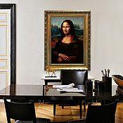 """Картины ручной работы. Ярмарка Мастеров - ручная работа Картина маслом  """"Мона Лиза», «Джоконда»  70х50см.. Handmade."""