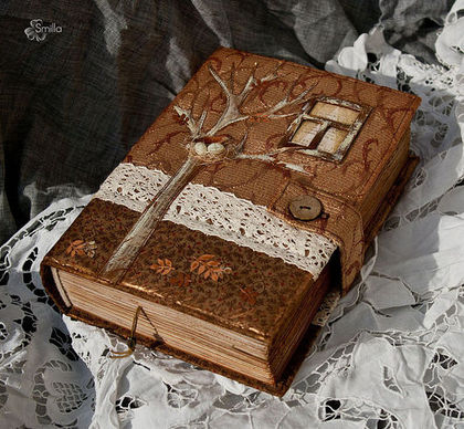"""Блокноты ручной работы. Ярмарка Мастеров - ручная работа. Купить Блокнот """"Золотая осень"""". Handmade. Осень"""