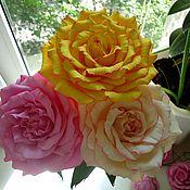 Украшения ручной работы. Ярмарка Мастеров - ручная работа композиция из цветов. Handmade.