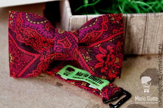 Галстуки, бабочки ручной работы. Ярмарка Мастеров - ручная работа. Купить Галстук бабочка детская с восточным орнаментом. Handmade.