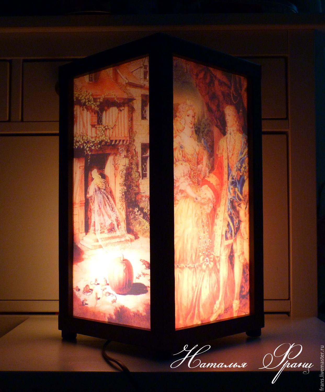 The lamp nightlight Cinderella handmade