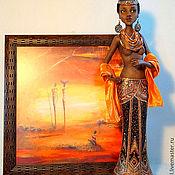 Куклы и игрушки ручной работы. Ярмарка Мастеров - ручная работа Африканская принцесса. Handmade.