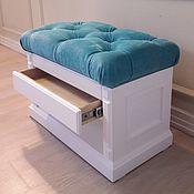 Для дома и интерьера handmade. Livemaster - original item Bench-Shoe Cabinet with drawer. Handmade.