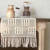 Для дома и интерьера ручной работы. Ярмарка Мастеров - ручная работа Салфетка с бахромой. Handmade.