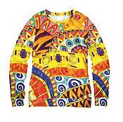 Одежда handmade. Livemaster - original item T-shirt for women designer print