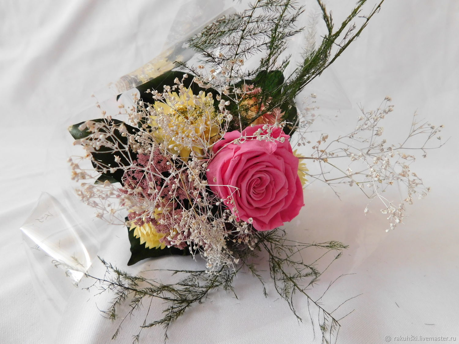 Bouquet of dried flowers rose 3 shop online on livemaster with buy bouquet of dried flowers rose 3 izmirmasajfo