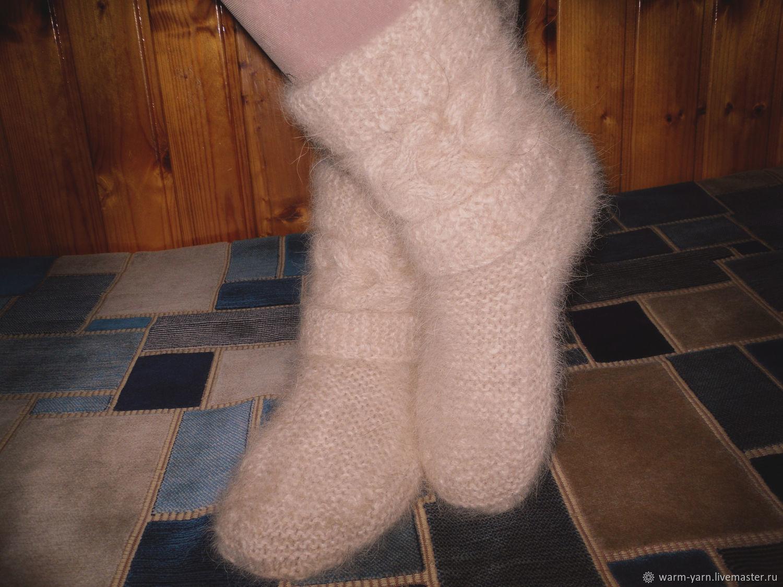 Women's knitted high boots, High Boots, Klin,  Фото №1